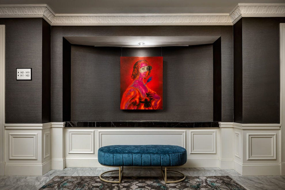 The Blackstone Hotel's amazing art collection is better than a museum