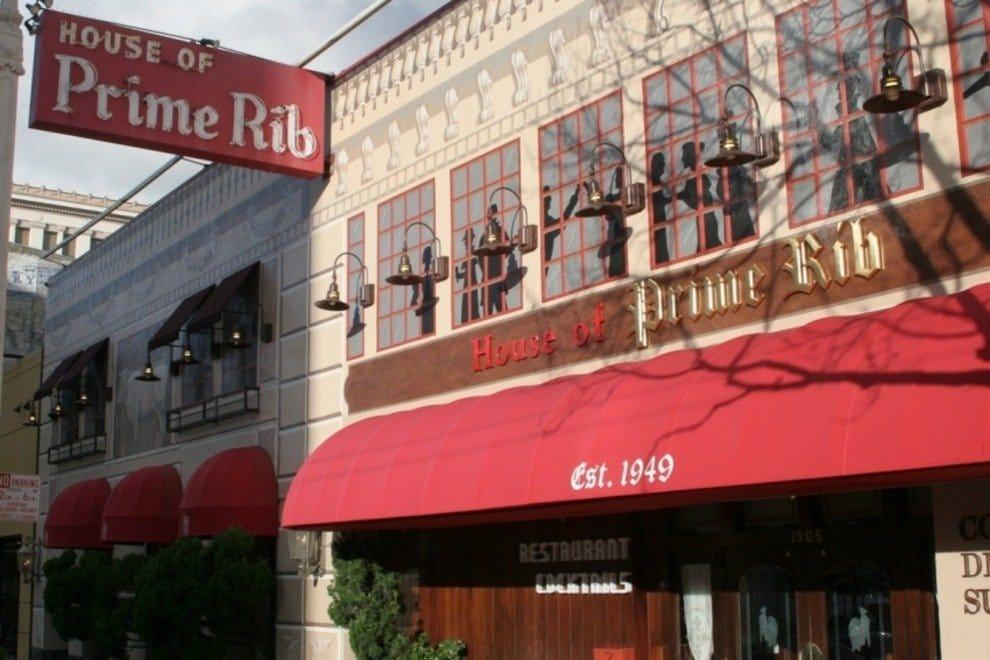 House Of Prime Rib San Francisco Restaurants Review