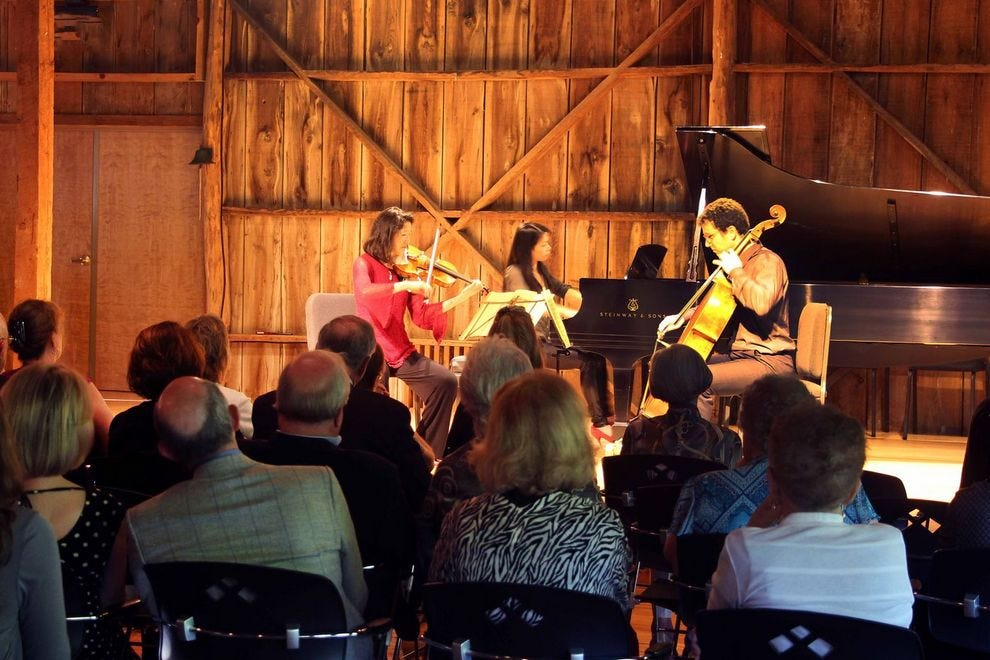 Enjoy chamber music in an intimate setting