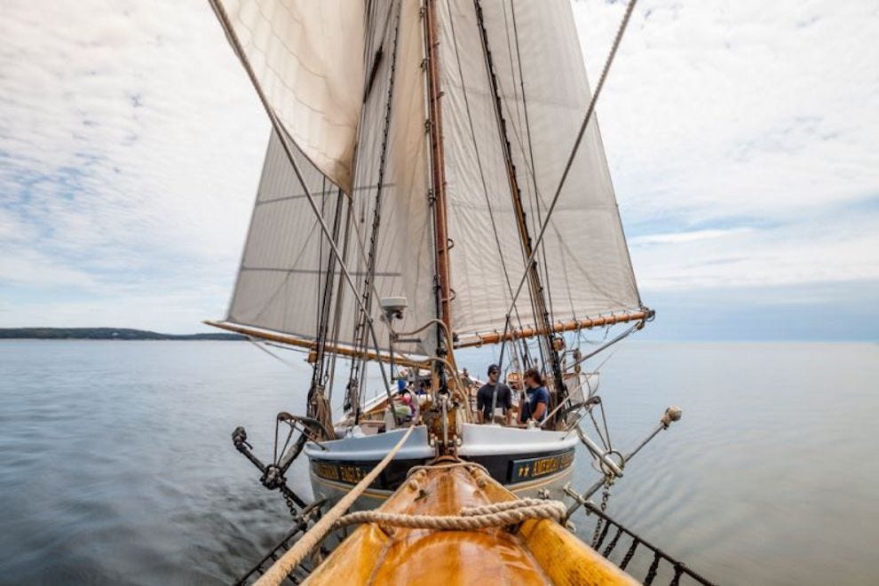 One of the best ways to experience coastal Maine is aboard an historic schooner