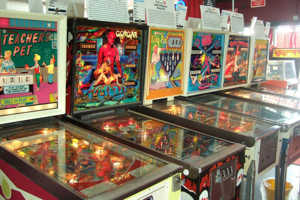 The Silverball Museum celebrates a favorite pastime, pinball