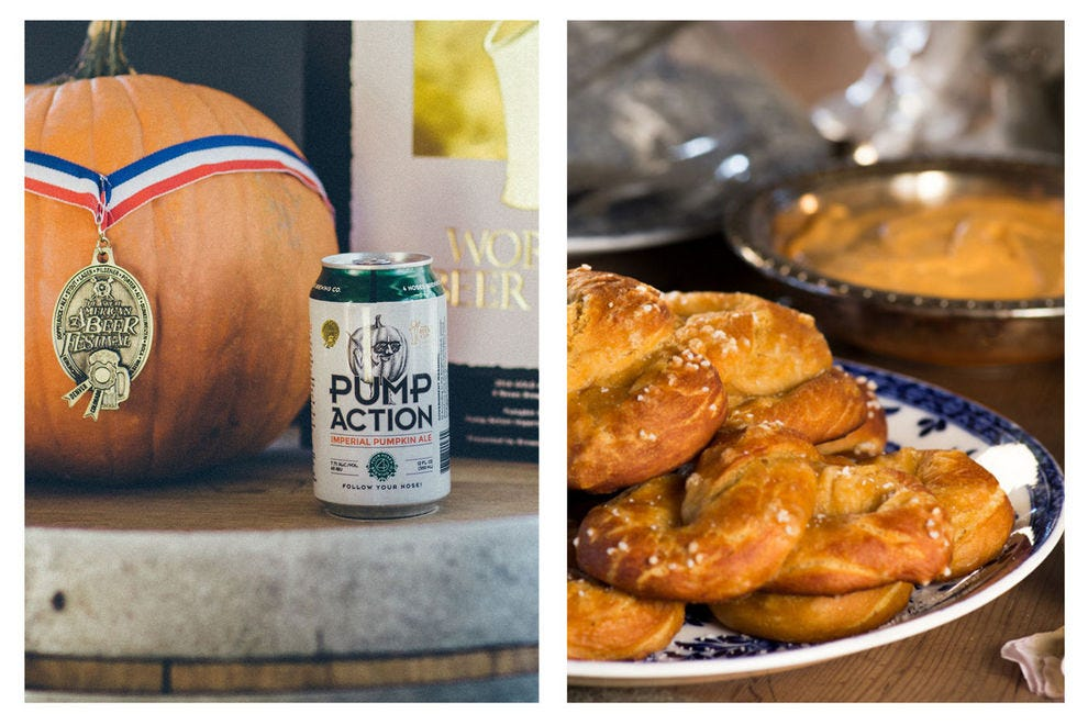 Warm up with these 10 fall beer pairings that you can make at home
