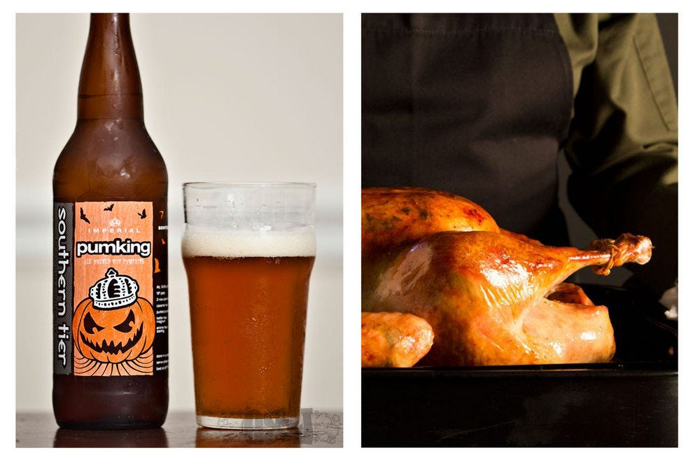 Serve this Thanksgiving beer with an herb butter-roasted turkey