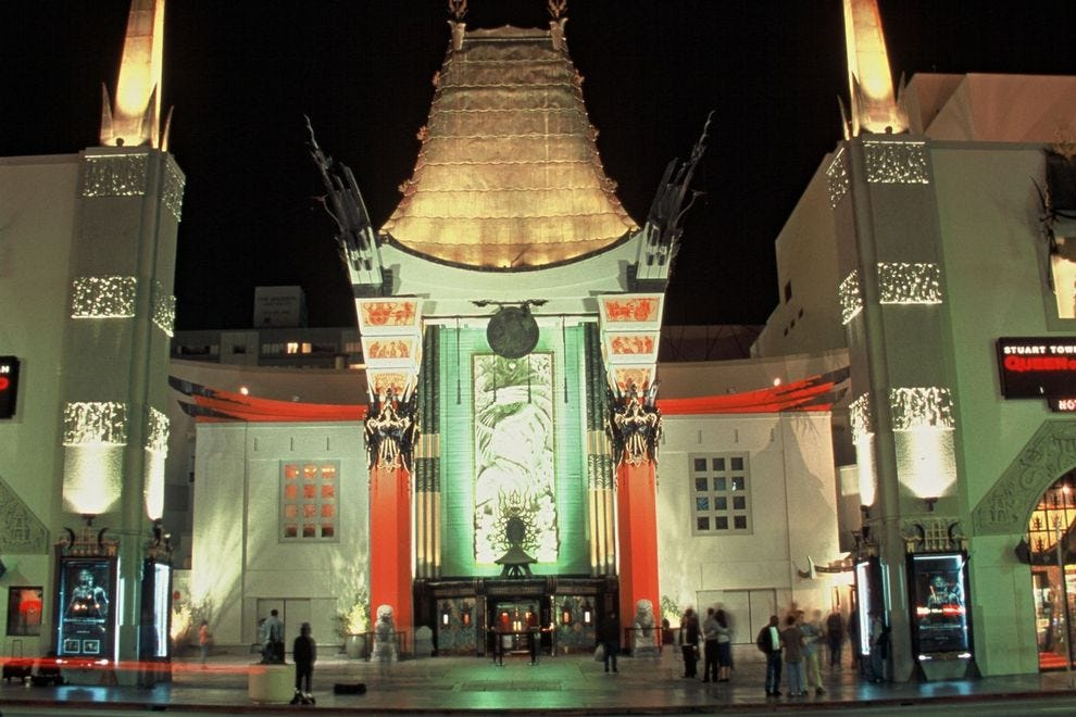 The iconic TCL Chinese Theatre