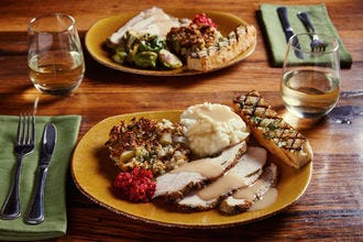 In San Diego, the best thing to make for Thanksgiving is reservations