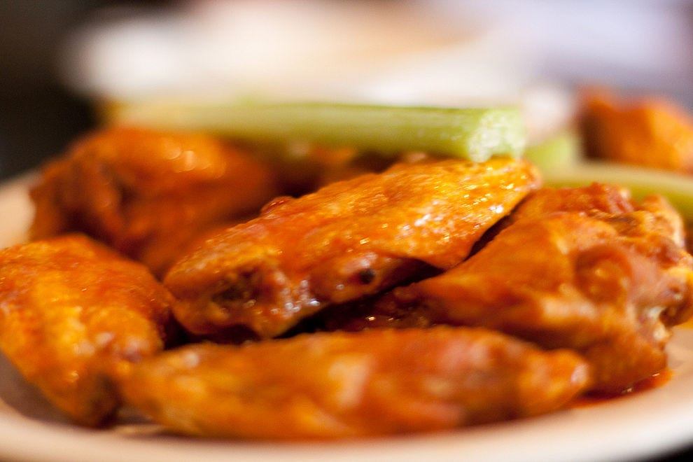 Buffalo wings are popular all over the country, but their home is in New York