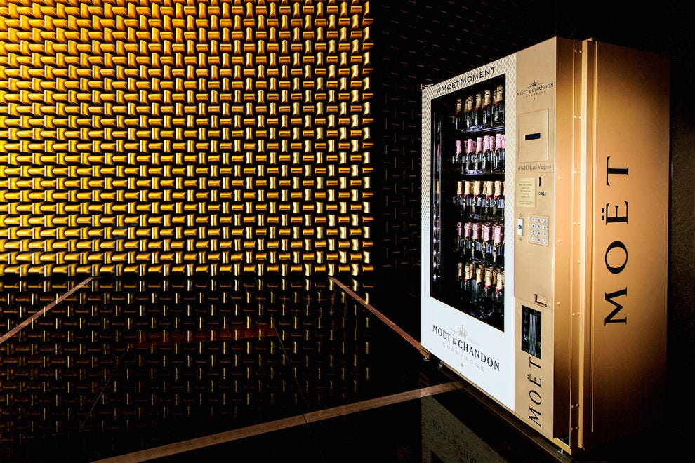 Moët & Chandon Vending Machine