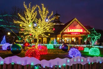 Lights Before Christmas Riverbanks Zoo