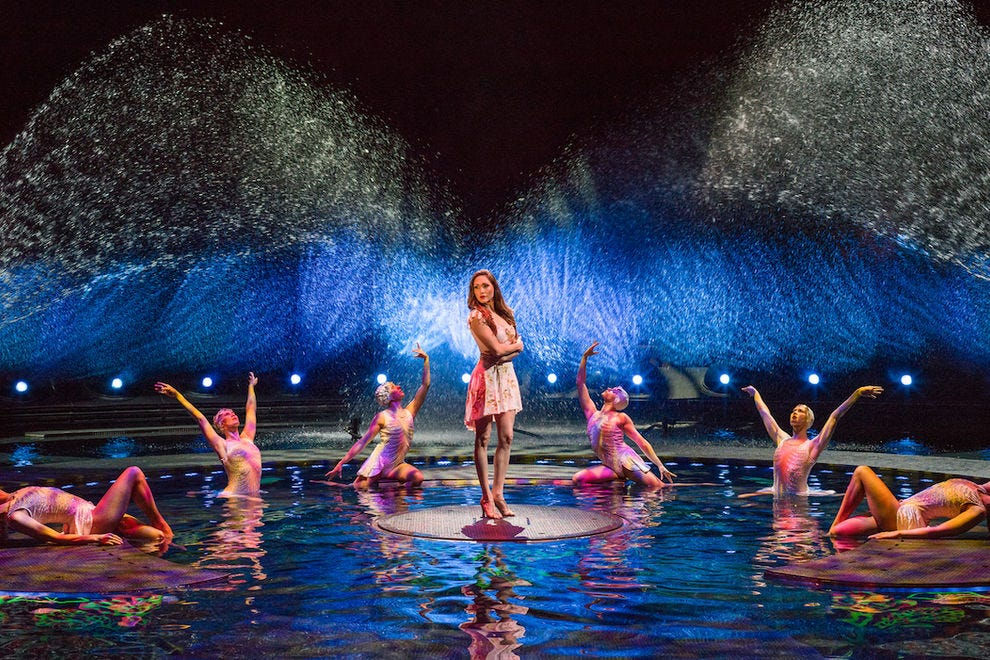"You can dive ""La Reve - The Dream"" during a live show"