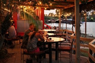 Meet me on the patio, Daddy-O. Orlando's best al fresco dining.