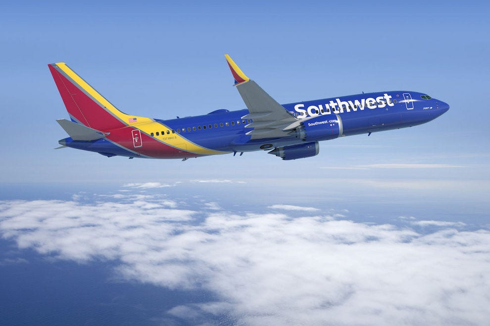 Southwest Airlines Rapid Rewards miles never expire