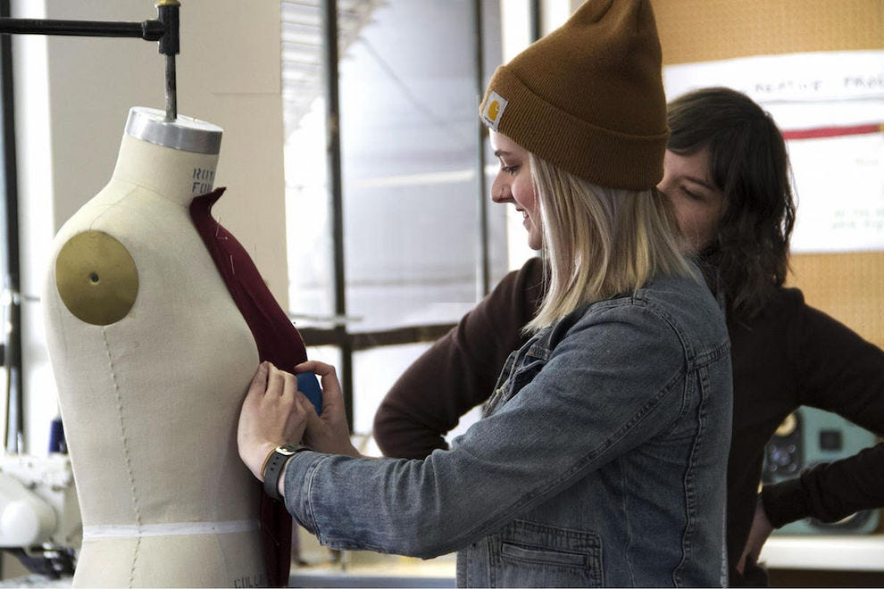 Take a private sewing class at Portland Apparel Lab