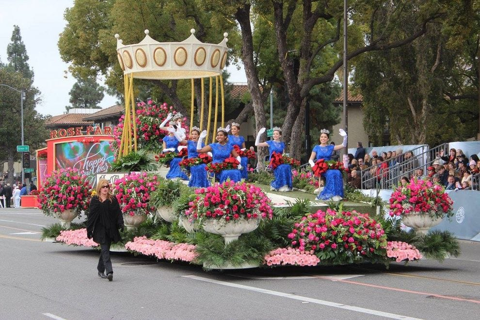 Tournament of Roses Rose Bowl Parade
