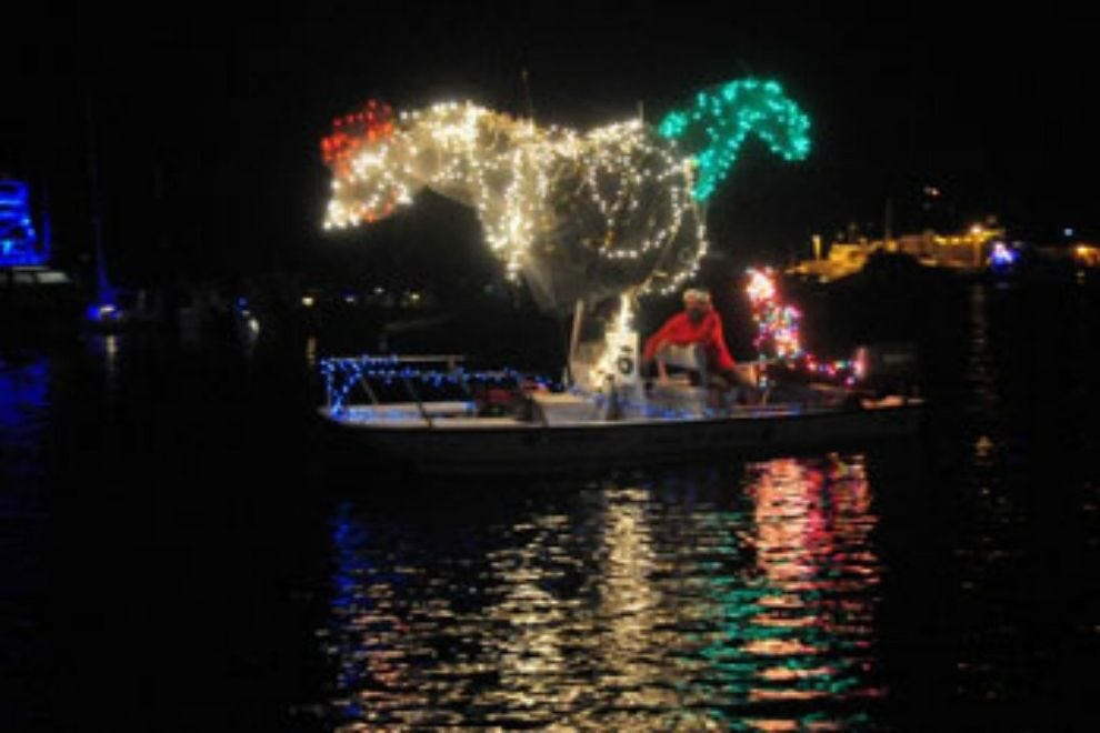 Key West Lighted Boat Parade