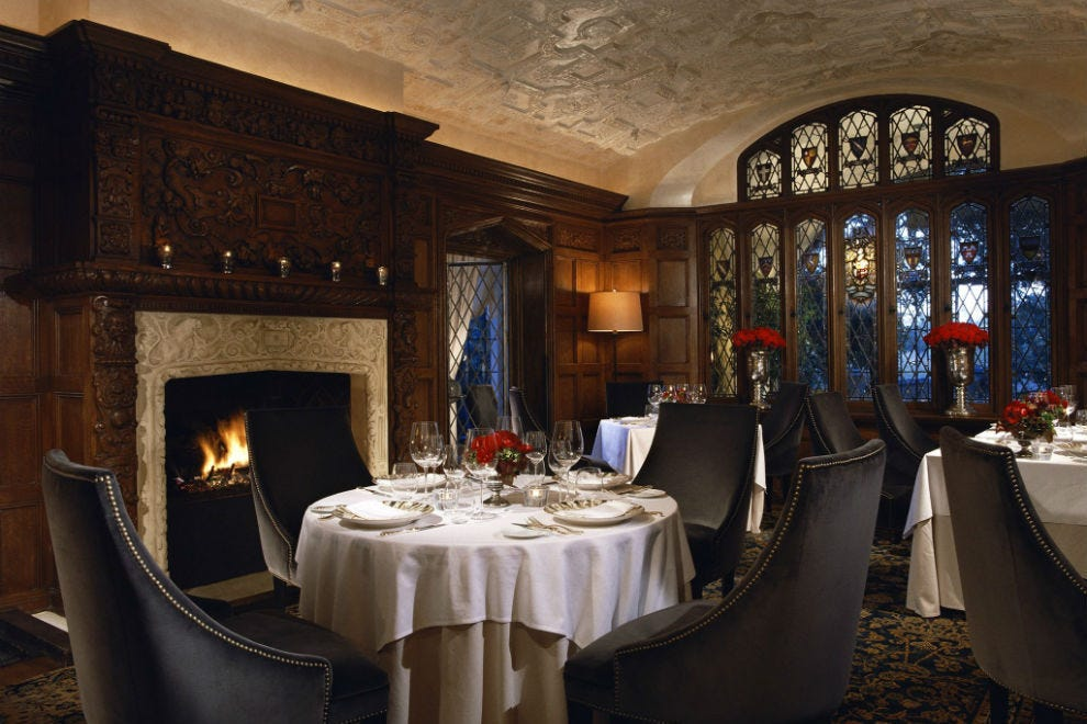 The Mansion Restaurant At Rosewood On Turtle Creek
