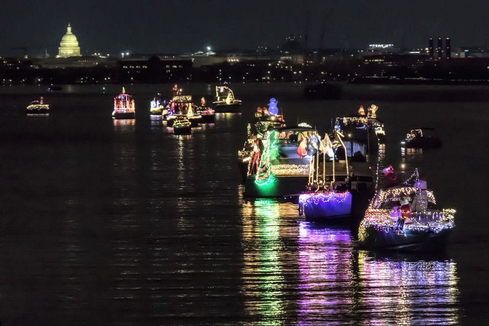 Alexandria Holiday Boat Parade of Lights