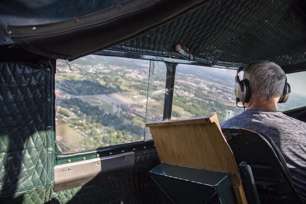 Take a flight in a restored World War II bomber at the Yankee Air Museum