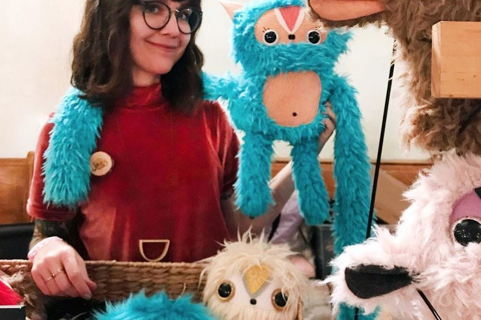 Jess Sheeran and her Cool Critters