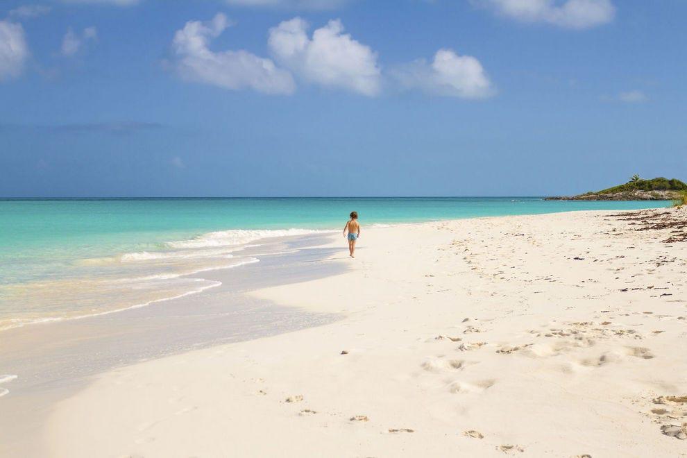 Tropic Of Cancer Beach Little Exuma Bahamas