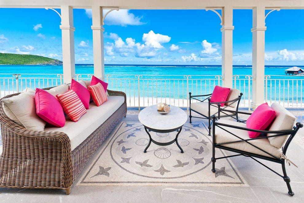 caribbean furniture. Pink Sands Club Canouan, St. Vincent And The Grenadines Caribbean Furniture