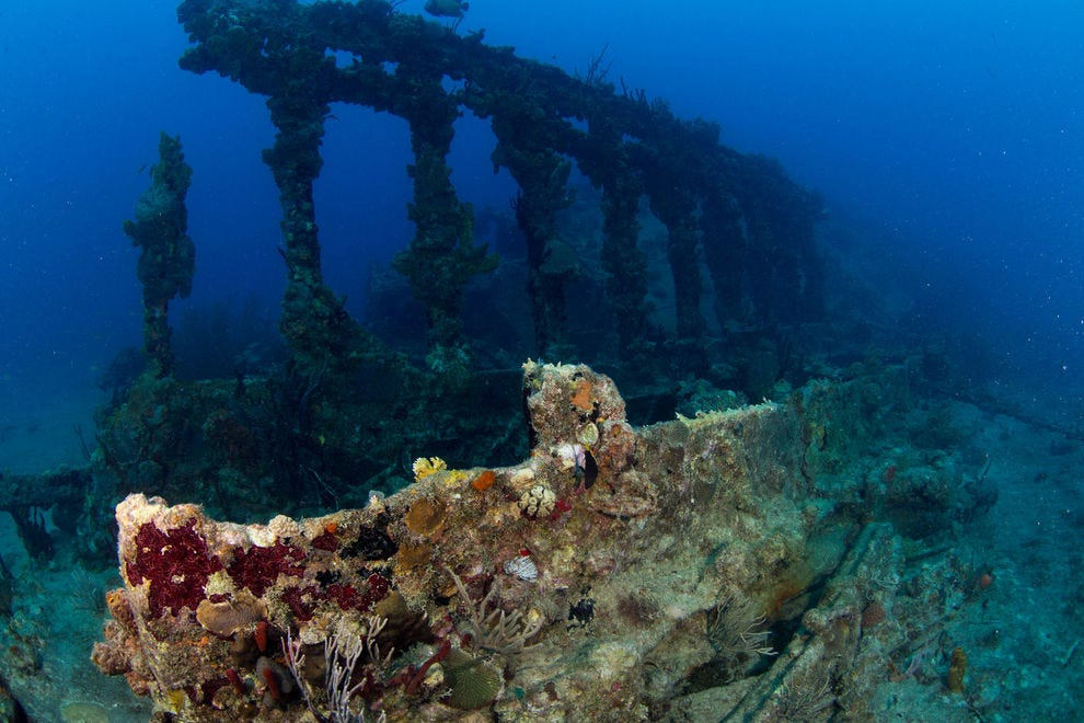Wreck of the RMS Rhone