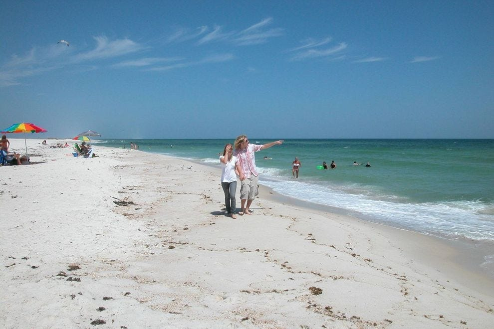 Gulf Islands National Seashore comprises Florida's westernmost beaches