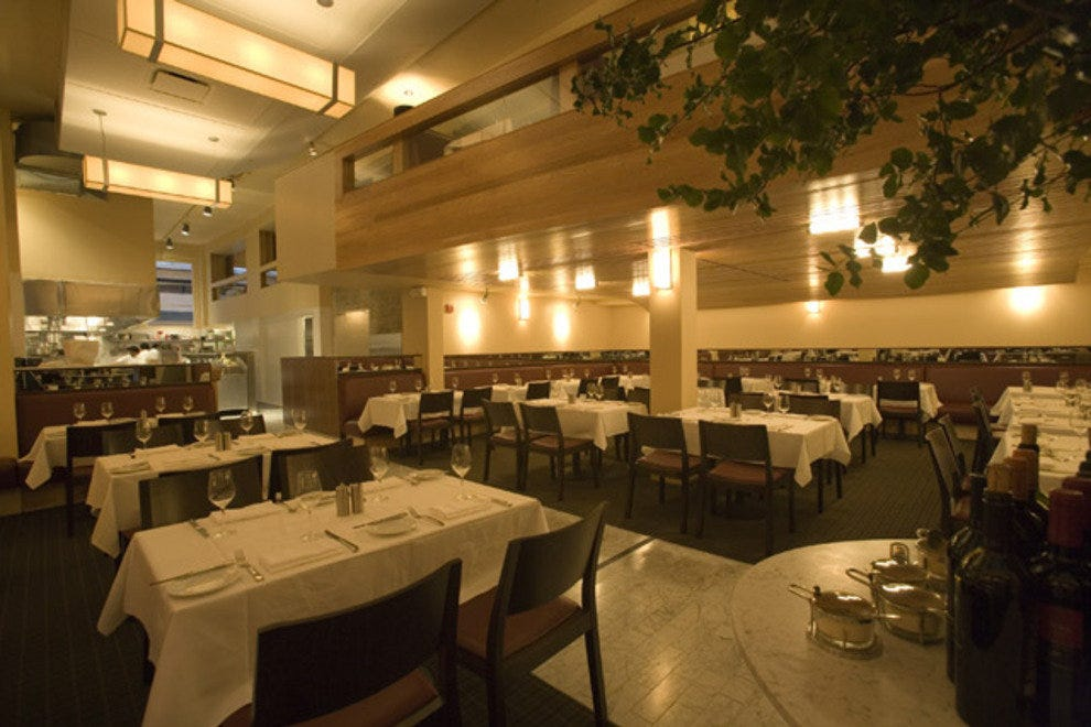 Perbacco Is A Well Respected Successful Italian Restaurant In San Francisco S Financial District An Word Expressing Pleasure And