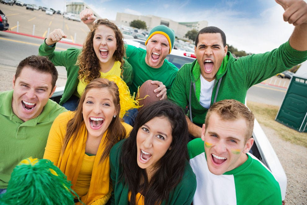 Which sports-centric university do you cheer for?