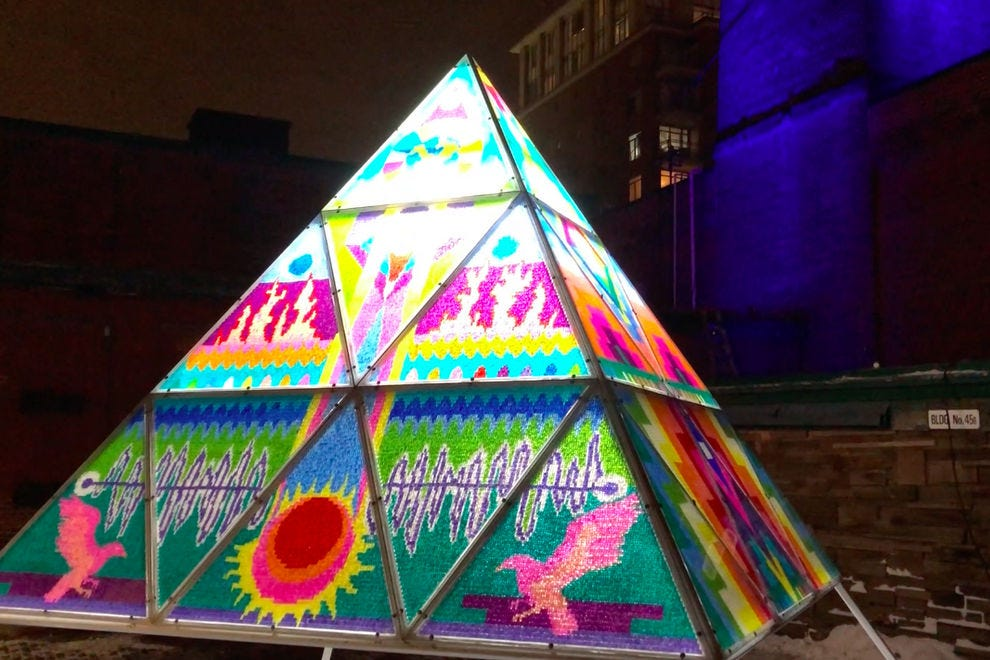 Let your light shine at the Toronto Light Festival