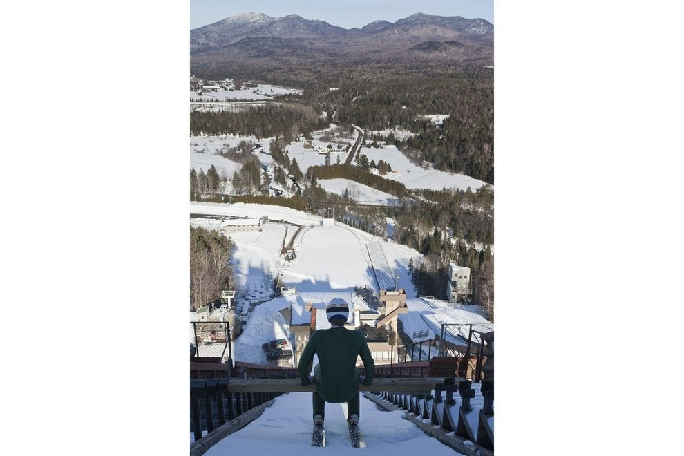 You can actually experience Olympic sports in Lake Placid