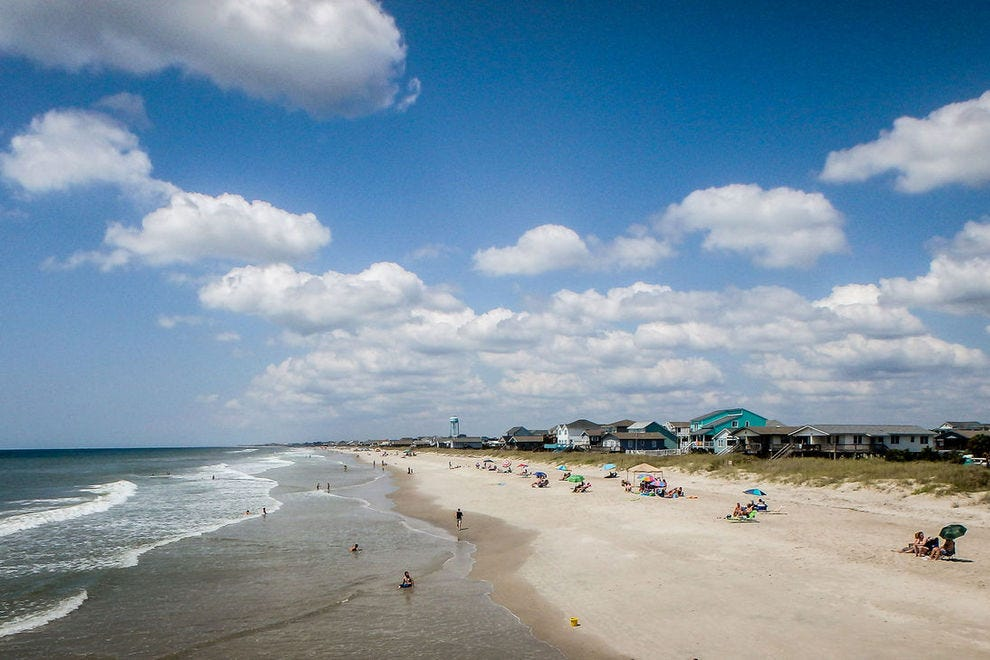 How Far Is Oak Island From Ocean Isle