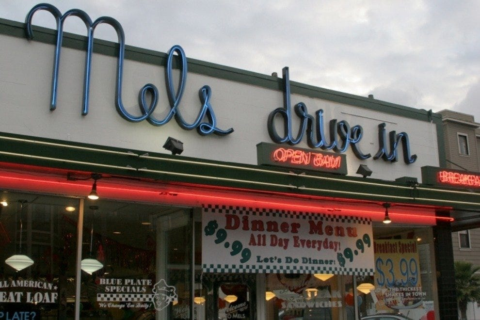 Mel S Sports Charming 50s Style Decor And Serves Traditional Breakfast Eats That Can T Be Beat The Smell Of Sizzling Sausage Draws Diners To This