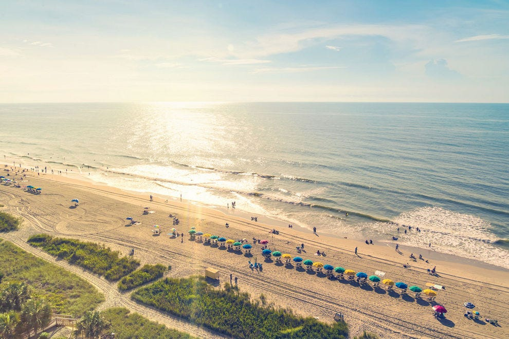 From Hilton Head to the Grand Strand, South Carolina's shores are lined with beaches