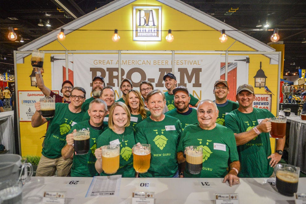 Denver's Great American Beer Festival ranks among one of the country's longest events