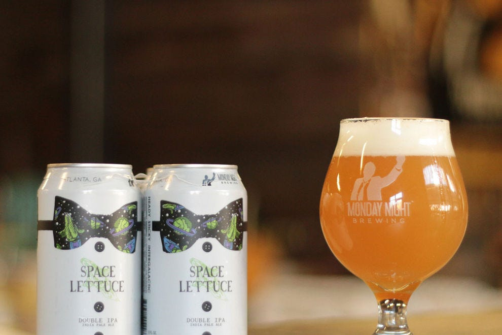 10Best readers love the space-inspired branding of this beer from Monday Night Brewing