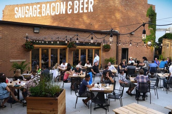Kaiser Tiger Sausage, Bacon & Beer Bar