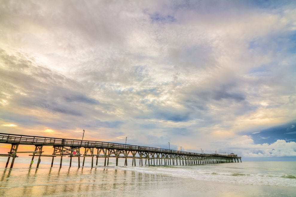 Cherry Grove is one of several beach communities in North Myrtle Beach