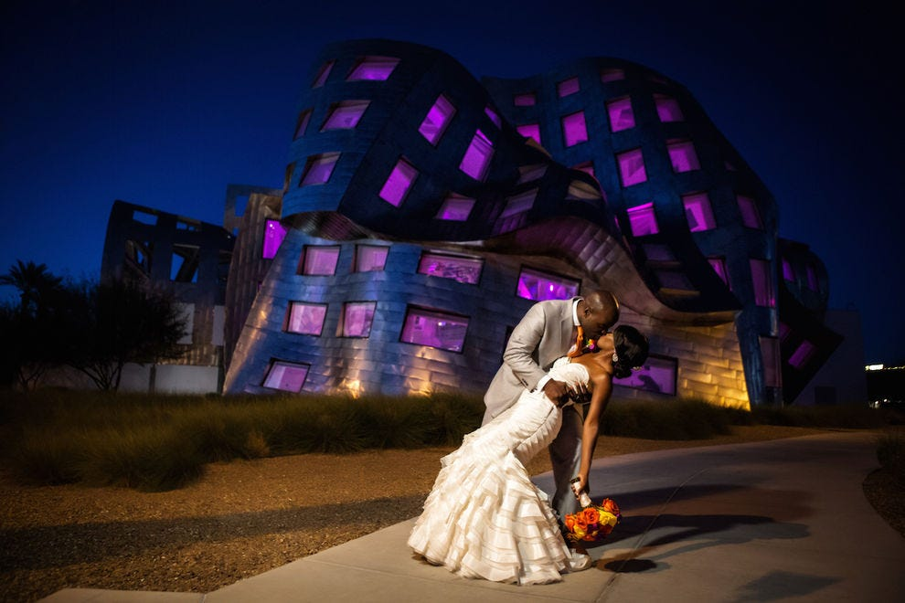 Weddings at the Keep Memory Alive Event Center are unforgettable