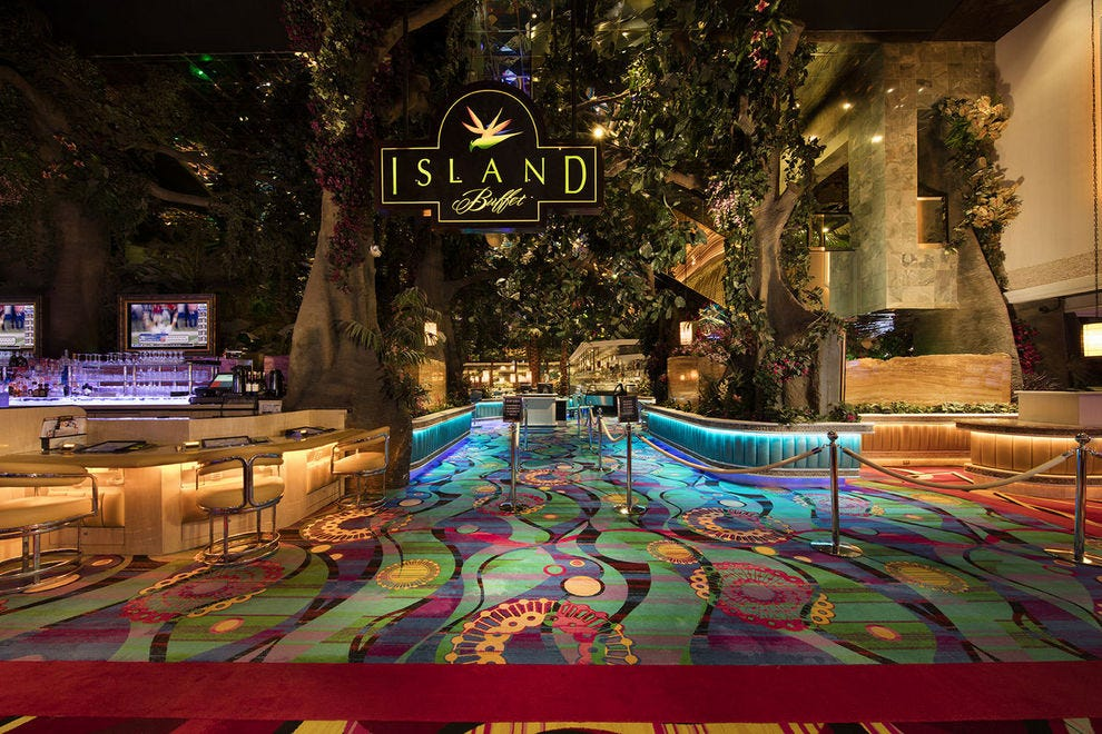 Island Buffet at the Peppermill Resort Hotel in Reno