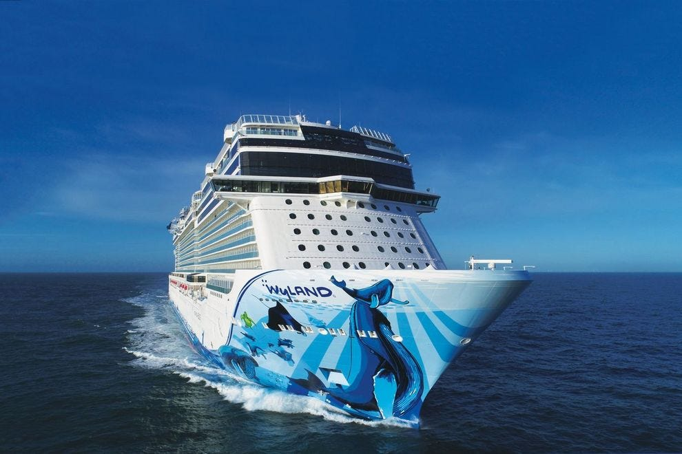 Take a virtual tour on the Norwegian Bliss website