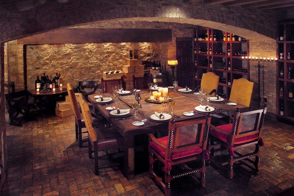 LON's Underground Wine Cellar at Hermosa Inn offers the coolest culinary experience