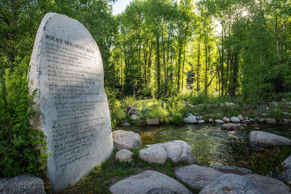 Spend a peaceful afternoon at the John Denver Sanctuary
