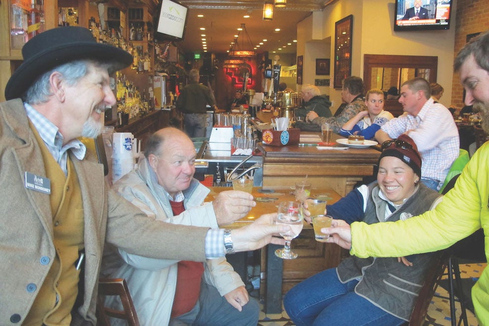 Drink your way through history on the Aspen Historical Society Historic Pub Crawl
