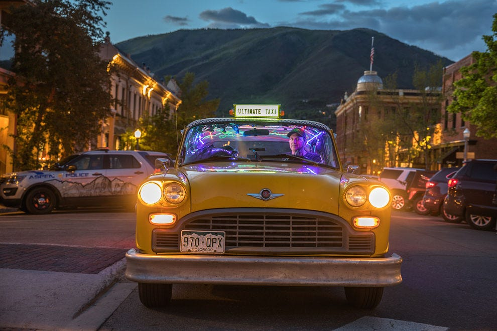 The Ultimate Taxi is a destination in itself