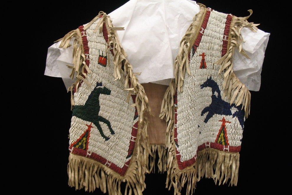 Lulu Bell Parr's beaded bolero vest