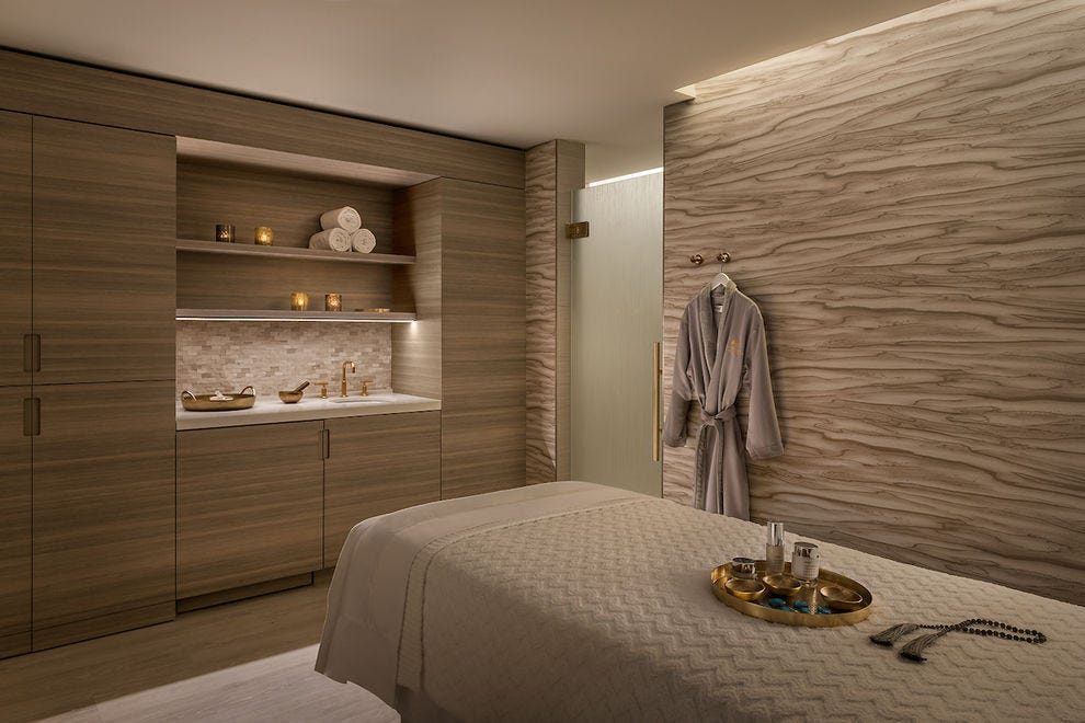 The Phoenician Spa will whisk you away from the heat