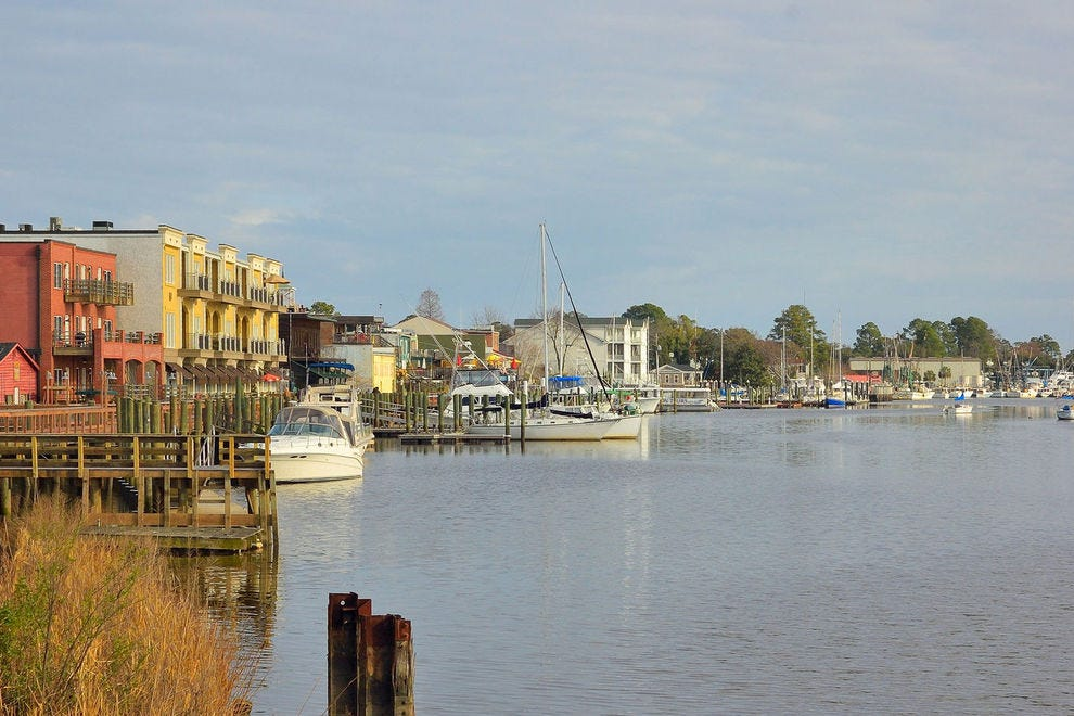 Readers chose Georgetown as the nation's best small town on the coast