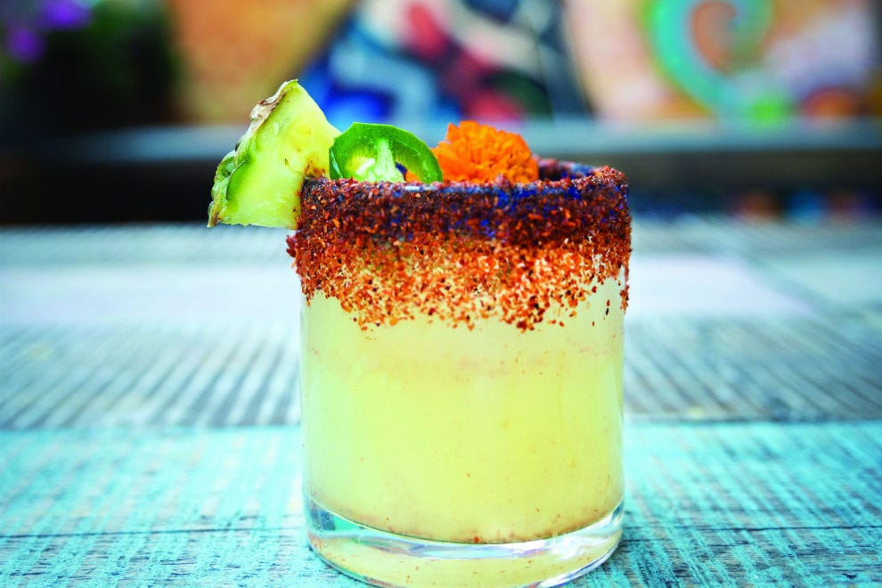 Wild Salsa's spicy Wild-Rita margarita is sure to make your taste buds tango