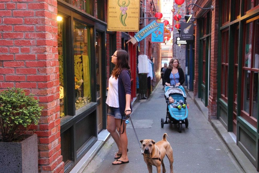 Shop on the narrowest street in Canada