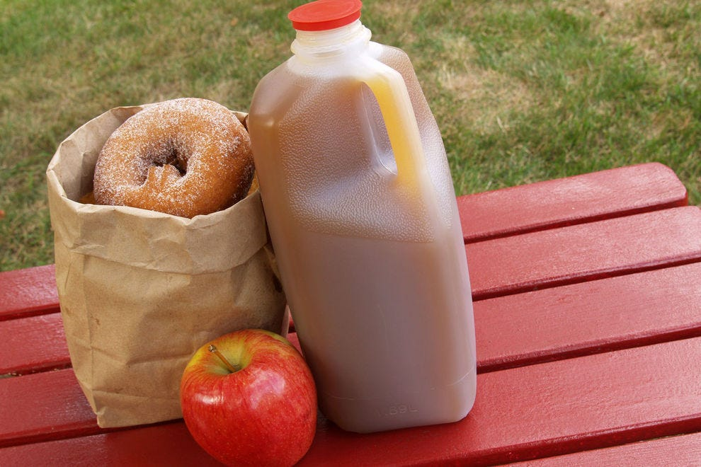 Autumn in New Hampshire means the smell of fresh cider donuts wafting through the air